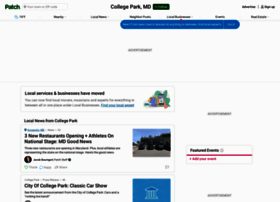 collegepark.patch.com