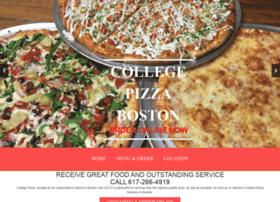 collegepizzafenway.com