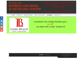 collegeplazaexpresscarwash.com