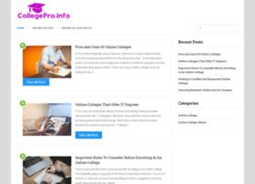 collegepro.info