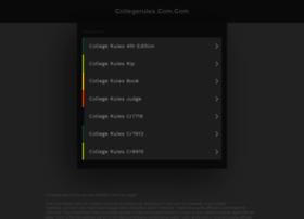 collegerules.com.com