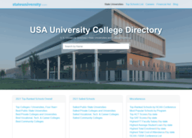 colleges.stateuniversity.com