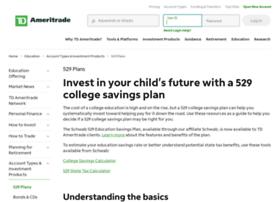 collegesavings.tdameritrade.com