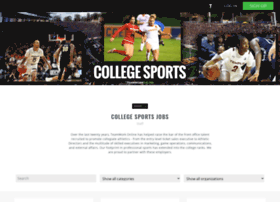collegesportsjobs.teamworkonline.com