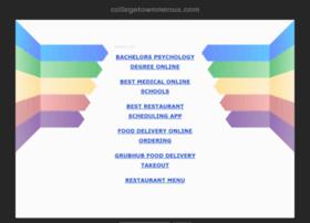 collegetownmenus.com