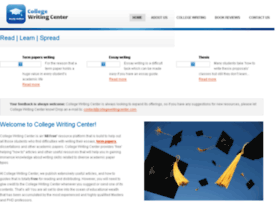 collegewritingcenter.com