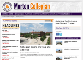 collegian.morton.edu