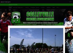 colleyvillesoccer.net