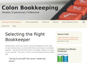 colonbookkeeping.com
