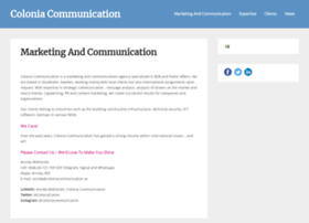 coloniacommunication.se