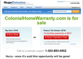 colonialhomewarranty.com