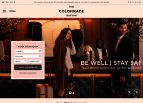 colonnadehotel.com