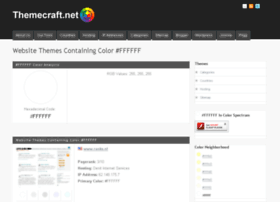 color-ffffff.themecraft.net