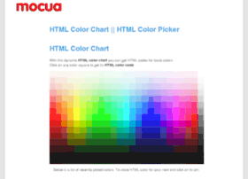 color.mocua.com