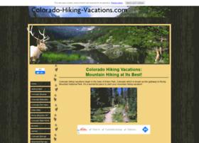 colorado-hiking-vacations.com