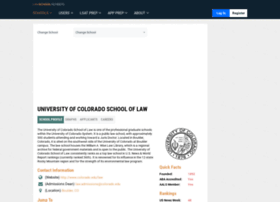 colorado.lawschoolnumbers.com