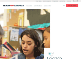 colorado.teachforamerica.org