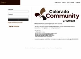 coloradocommunity.ccbchurch.com
