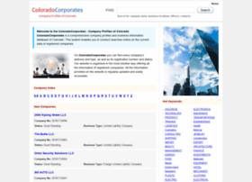 coloradocorporates.com