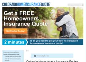 Coloradohomeinsurancequote.com