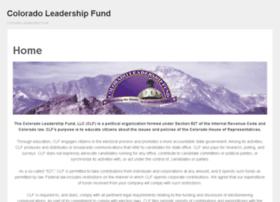 coloradoleadershipfund.com