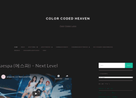 colorcodedheaven.com