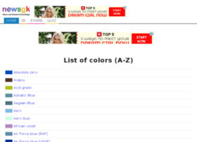 Colorsstartingwithd.facts.co