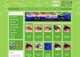 coloured-contacts-hut.com