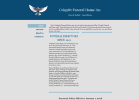 colquittfuneralhome.net
