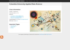 columbia-applied-data-science.github.com