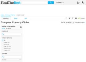 comedy-club.findthebest.com