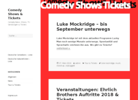 comedy-shows-tickets.de