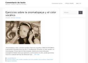 comentariodetexto.com