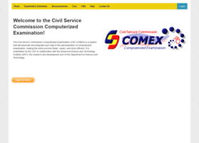 comex.csc.gov.ph