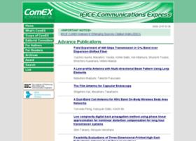comex.ieice.org