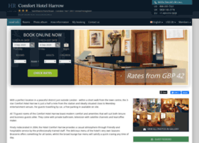 comfort-hotel-harrow.h-rez.com