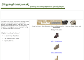 comfortable-footwear-shoes.shoppingvariety.co.uk