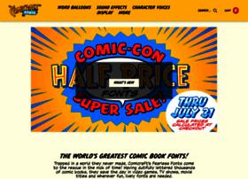 comicbookfonts.com