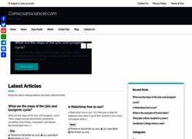 comicsanscancer.com