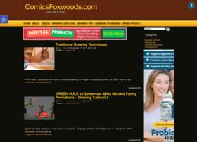 comicsfoxwoods.com