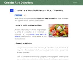comidasparadiabeticos.org
