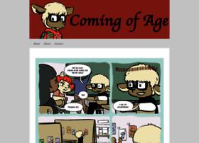 comingofagecomic.com