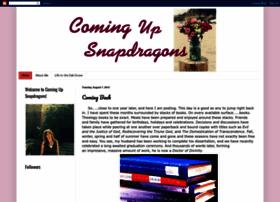 comingupsnapdragons.blogspot.com