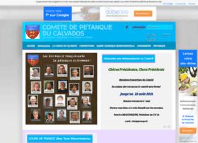 comite14petanque.fr