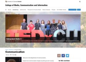 comm.colorado.edu
