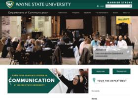 comm.wayne.edu