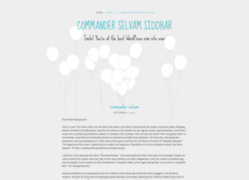 commanderselvamsiddhar22.wordpress.com