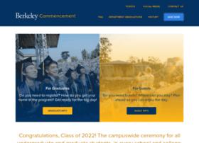 commencement.berkeley.edu