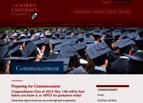 commencement.cua.edu