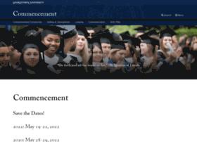 commencement.georgetown.edu